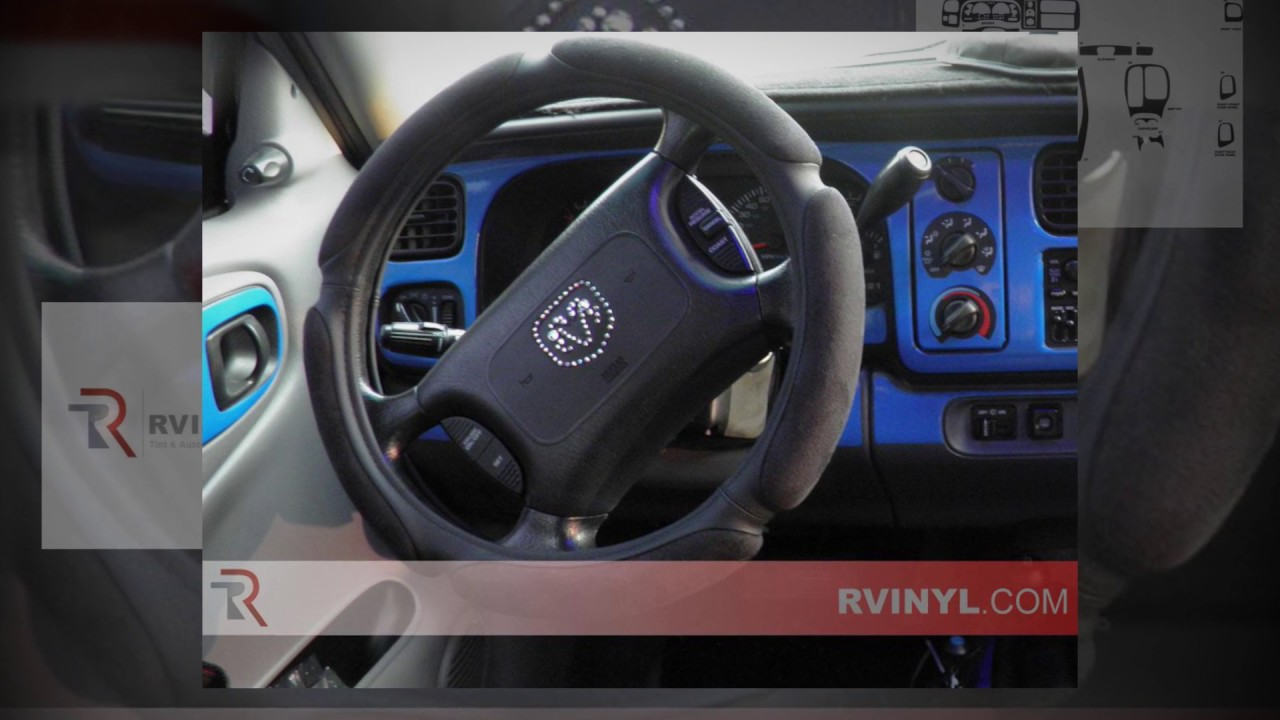 Dash Kit Trim Set for Dodge Ram 98-01 Car Auto Interior Tuning Dashboard