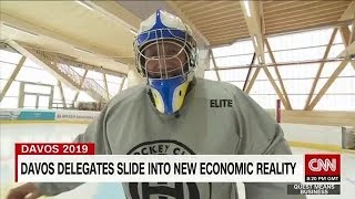 Global economy on thin ice in Davos
