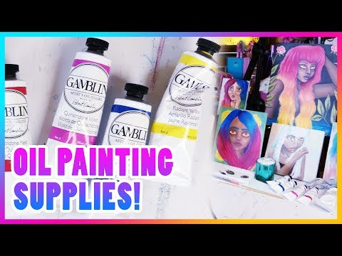 My Essential Oil Painting Supplies Explained