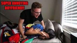 Annoying My Girlfriend For 24 Hours !!!