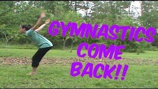 Gymnastics Come Back | Self Taught Gymnastics | Lydia The Gymnast | Gymnastics 101