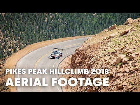 Pikes Peak New Record Run From the Air. | Pikes Peak Hillclimb 2018