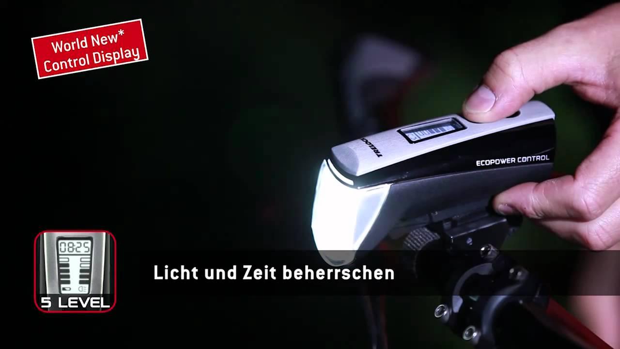 Radsport Fahrradzubehör TRELOCK LS 560 I-GO Control LED-Fahrrad-Frontlicht