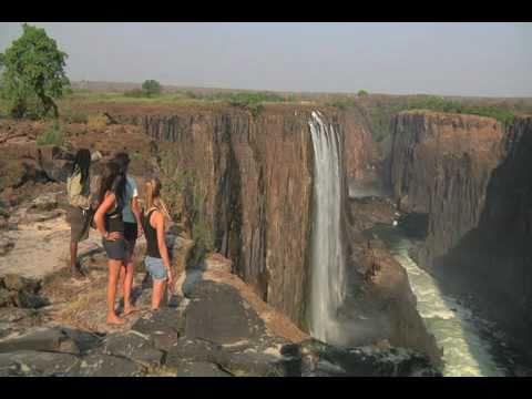 Devils Pool Victoria Falls Youtube