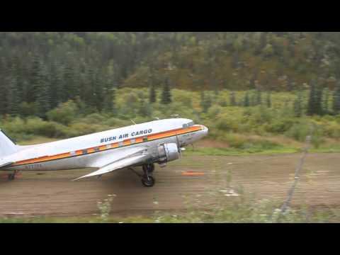 DC-3, Bush Air Cargo, Alaska