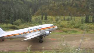 DC-3, Bush Air Cargo, Alaska