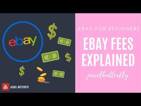 EBay For Beginners   EBay Fees Explained