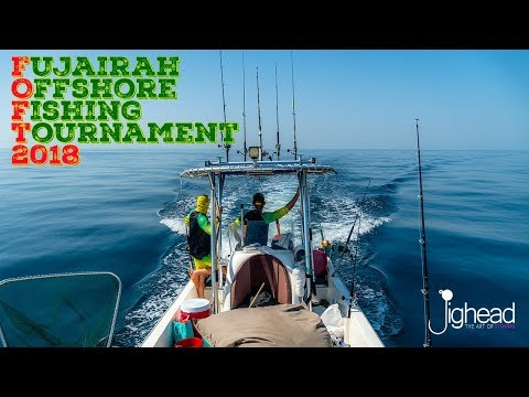 JIGHEAD TV: Fujairah Offshore Fishing Tournament - FOFT 2018 - 1 day at international tournament