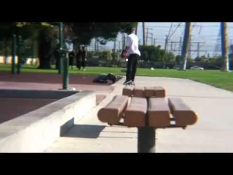 Nyjah Huston Eats Shit - Nyjah Huston - Skatematic