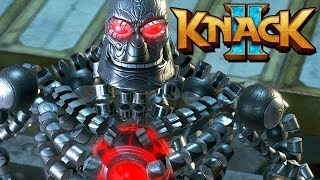 Knack 2 Gameplay German PS4 PRO - Terminator Knack Klon