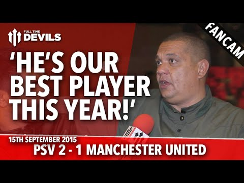 Luke Shaw: 'Our Best Player This Year' - PSV Eindhoven 2-1 Manchester United - FANCAM - 동영상