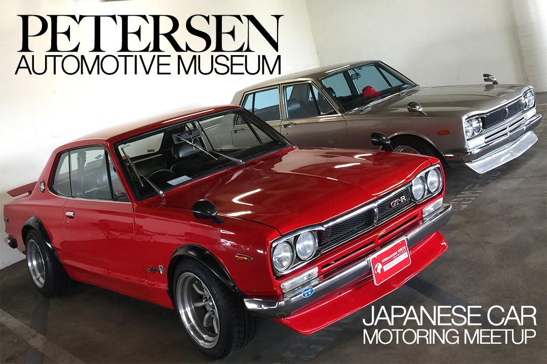 Petersen Automotive Museum: Japanese Car Motoring Meetup » Cali Car Scene #13 - YouTube
