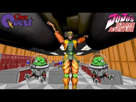 DIO Chex Quest Let's Play - I am DIO Brand-Flakes!