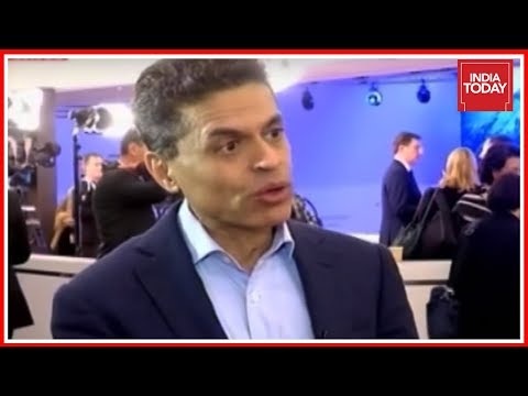 Fareed Zakaria On India's Position & Challenges In Geopolitics | Exclusive Interview From WEF, Davos