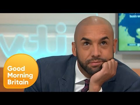 Alex Beresford Storms Off After Being Teased by Piers Morgan | Good Morning Britain