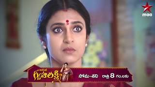 Intinti Gruhalakshmi Serial today at 8 PM only on Star Maa