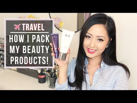 TRAVEL: Beauty Essentials + How I Pack Them [Carry On]