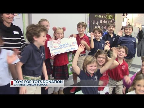 Charleston Day School Toys for Tots Donation
