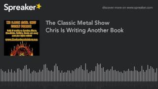 Chris Is Writing Another Book