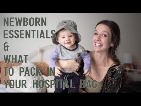 Newborn Essentials In 2020 - [& What To Pack In Your Hospital Bag!]