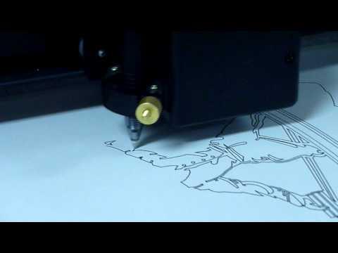 US Cutter MH-871 Pen Plotting
