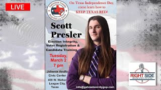 How to Keep Texas Red: <b>Texas Independence Day</b> w/Scott Presler ...