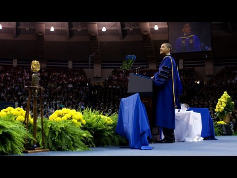 President Obama: Notre Dame Commencement
