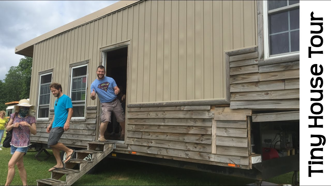 Tiny House Converted From A Totaled 5th Wheel Travel