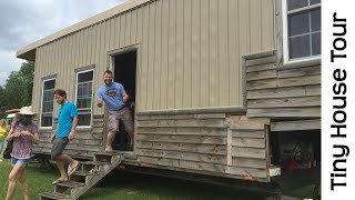 Tiny House Converted From A Totaled 5th Wheel Travel Trailer Camper