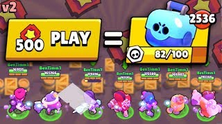 WE BET 500 TICKETS & THIS IS HOW MANY BRAWL BOXES WE GOT IN BIG GAME! V2