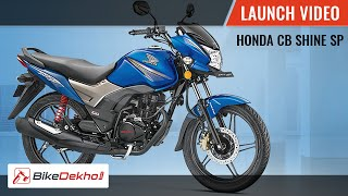 Honda CB Shine SP | Launch Video | BikeDekho.com