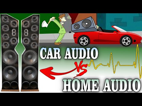 Car Audio VS Home Audio... Are ALL Subwoofer Sound Systems TREATED EQUALLY? *EXO RANT*