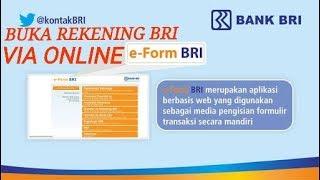 Buka Rekening BRI Via ONLINE