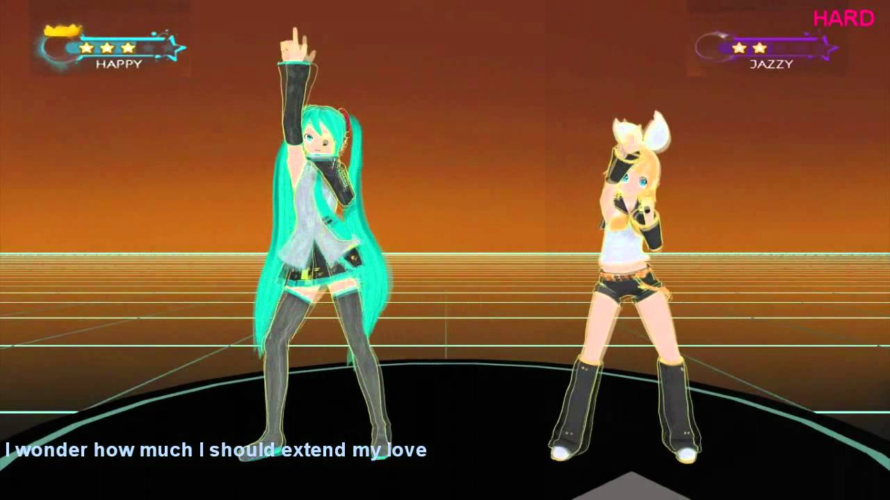 ps3 xbox kinect wii hatsune miku project just dance. Black Bedroom Furniture Sets. Home Design Ideas
