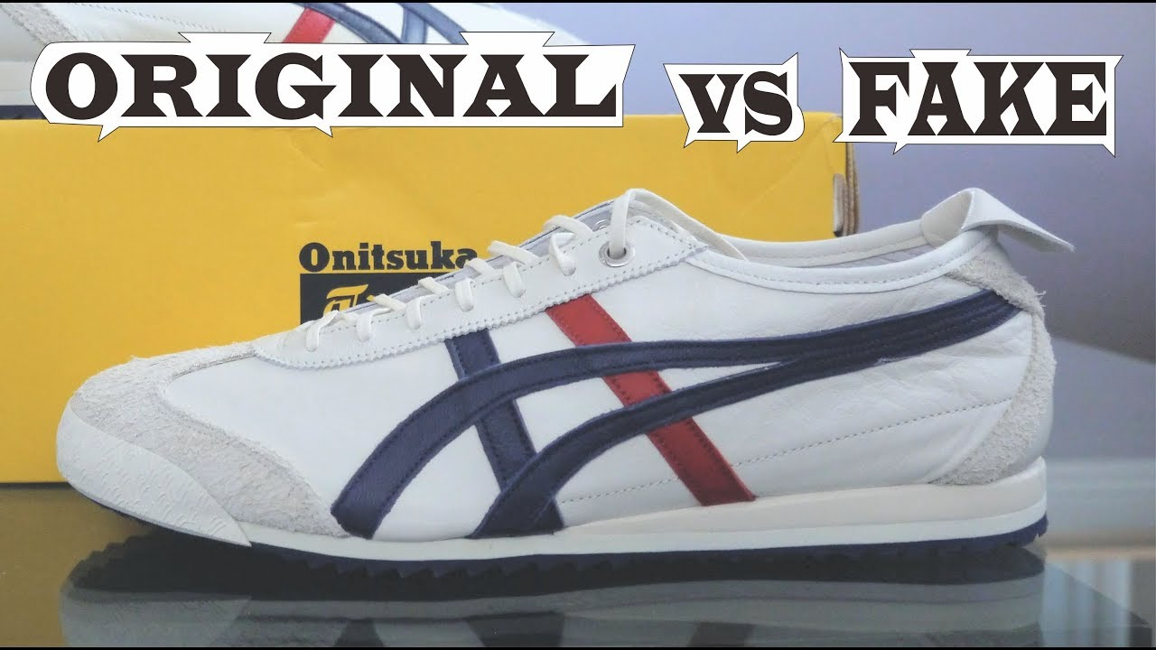 finest selection 944b7 718ed Onitsuka Tiger Mexico 66 SD Original & Fake