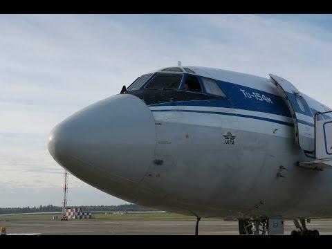 Полет ради полета 2016. Часть 2 - Ту-154 (Минск-Гомель-Минск)
