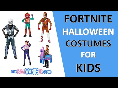 Fortnite Halloween Costumes For Kids - You HAVE To See These!
