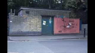 Red graffiti