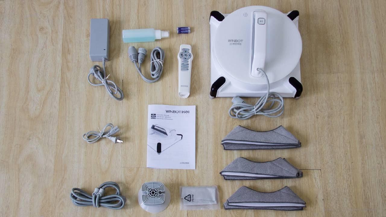 Robot Lavavetri Winbot.Ecovacs Robotics Winbot 950 Tutorial