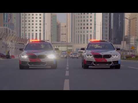 2018 BMW M5 MotoGP Safety Car  Debut in Doha Qatar 4K