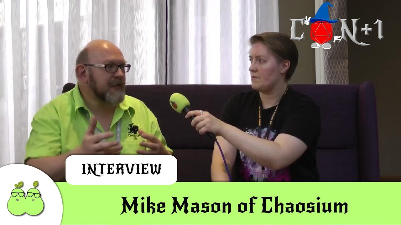 Chaosium Interview with Mike Mason