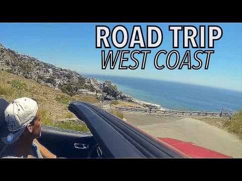 ROAD TRIP - WEST COAST USA 2015 I   GoPro