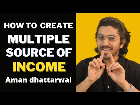 How To Create Multiple Sources Of Income   Honest Talk   Aman Dhattarwal   Padaku Students