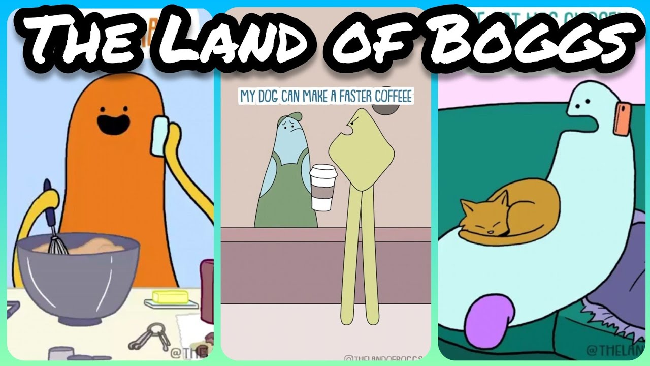 Download The Land of Boggs | TikTok Animation Compilation #3 from @thelandofboggs