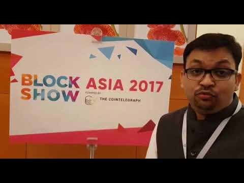 Blockchain Hub in Block Show Asia 2017