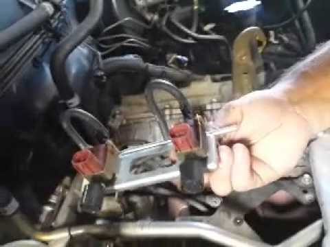 how to change land cruiser 1qfz-fe cold start injector
