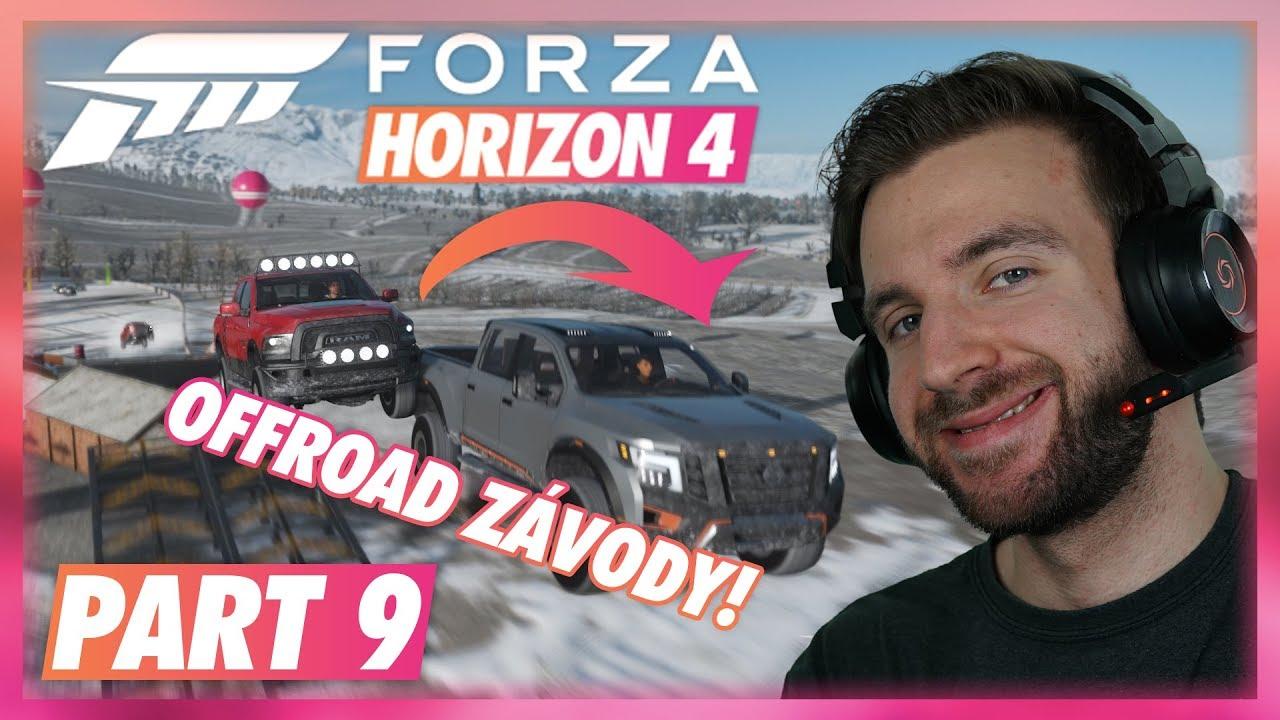 OFFROAD ZÁVODY VE SNĚHU! | Forza Horizon 4 #09