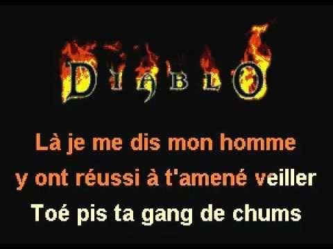 Lucie Marotte (Lyrics) - TA GANG DE CHUMS.avi