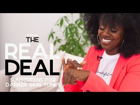 The Best Sunscreens For Dark Skin Tones Under $50  | The Real Deal | InStyle