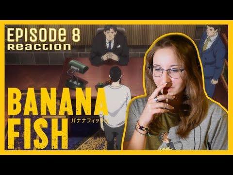 Download Banana Fish - Episode 8 Reaction